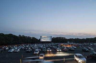 Cape Cod drive-in theater