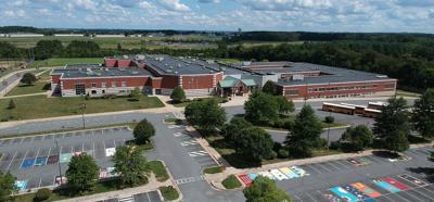 Heritage High School aerial shot
