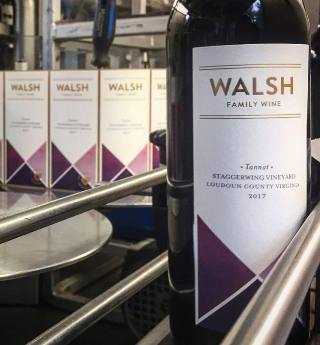 Loudoun County's newest winery, Walsh Family Wine, opens