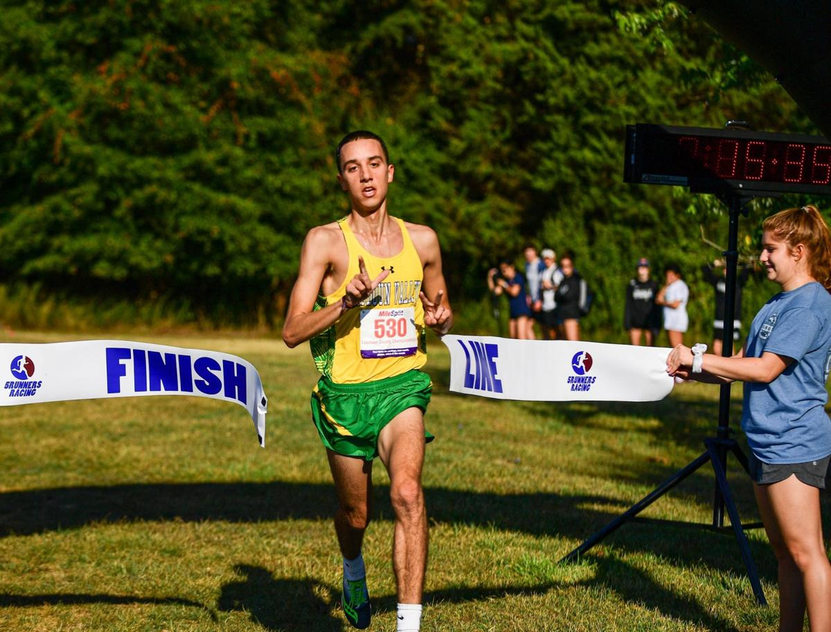 Shultz, Vikings Cruise To Boys Titles At LCPS Cross