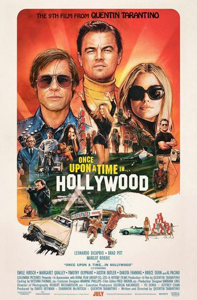 'Once Upon a Time ... in Hollywood' poster