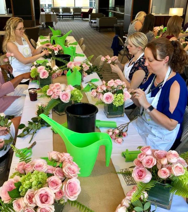 Alice's Table brings creative floral arranging classes to Loudoun