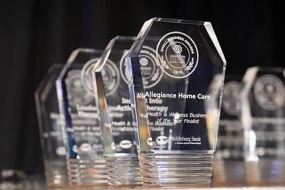 Loudoun Small Business Awards trophies
