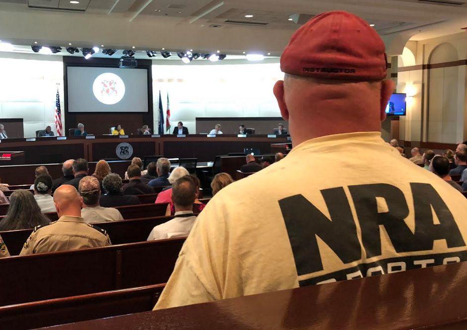 NRA gun debate