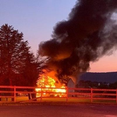 Lovettsville House Fire