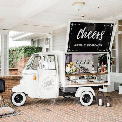 Bubbles and Brews mobile bar cart business to launch in July