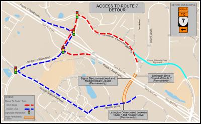 Route 7-Lexington Plans