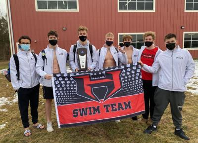 Heritage boys swim region champs