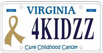 Mathias 'Childhood Cancer' license plate passes Va. House