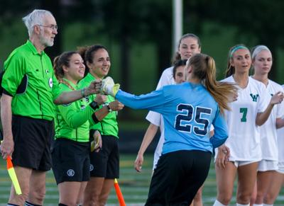 Dulles District girls soccer