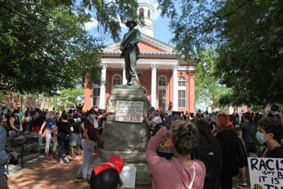 Confederate Statue protest