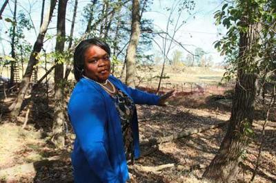 Pastor Michelle Thomas, historic Black cemeteries