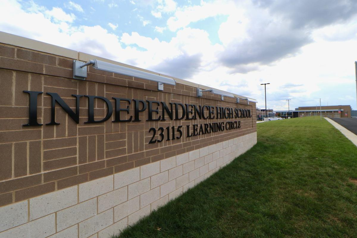 Independence High School sign