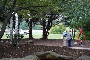 Franklin Park unveils new outdoor sculpture garden