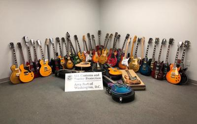 Counterfeit guitars CBP