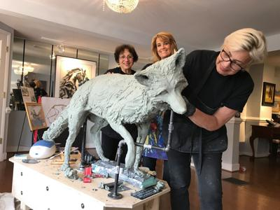 Middleburg Community Center will be home to the town's new fox statue