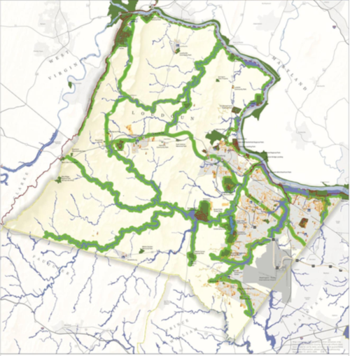 Emerald Ribbons | | loudountimes.com on map of forest fires, map of ambergris, map of bay village, map of log country cove,