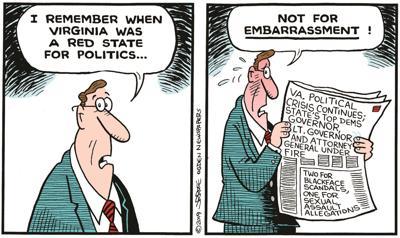 Scandals cartoon