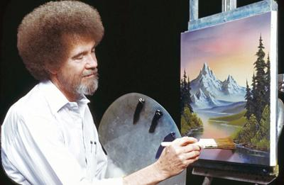 Bob Ross Exhibit at Franklin Park this fall