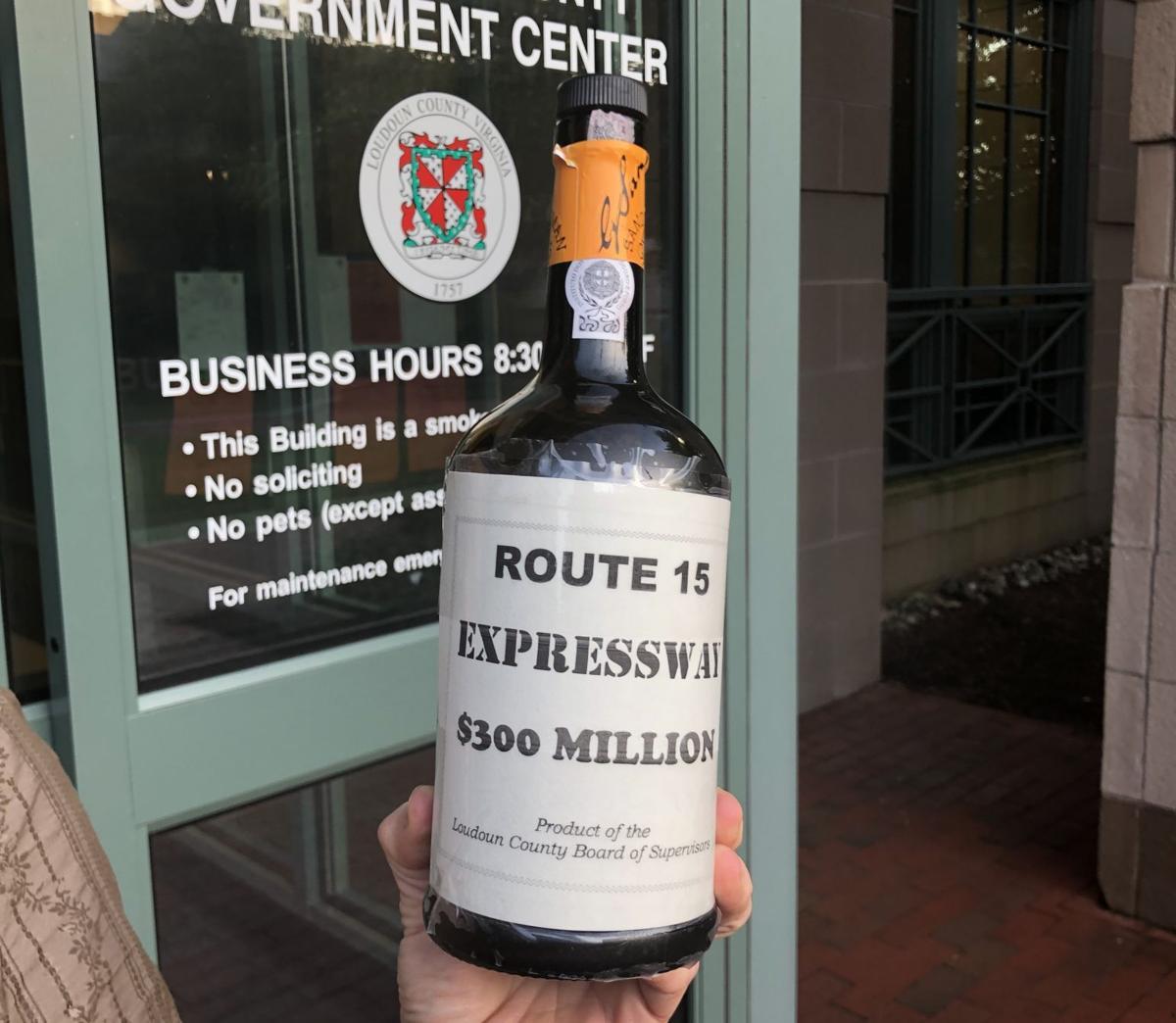 Route 15 | Widening Wine Bottle