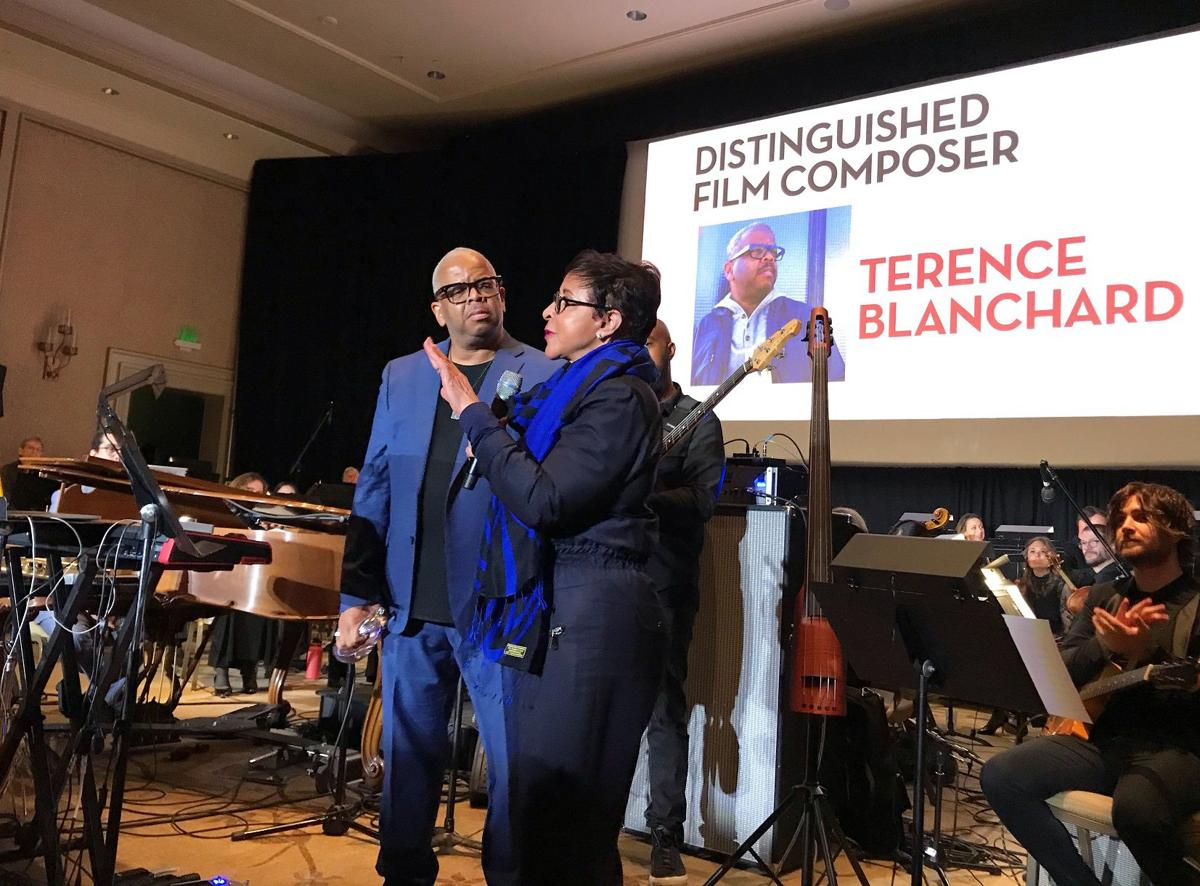 Terence Blanchard and Sheila Johnson