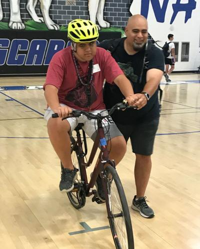 Loudoun camp teaches special needs students how to ride a bike