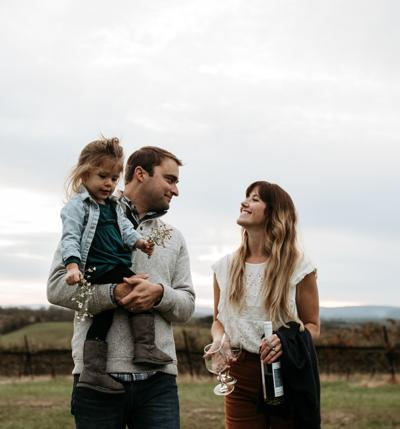 Nate and Sarah Walsh