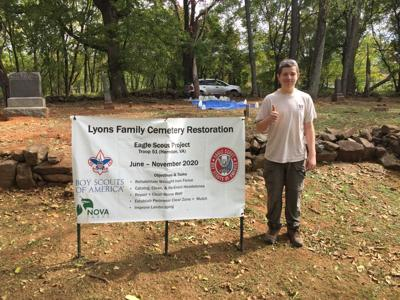 Eagle Scout uncovers, restores historic cemetery