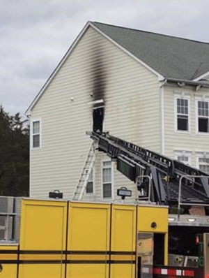 Ashburn house fire displaces family of three and dog