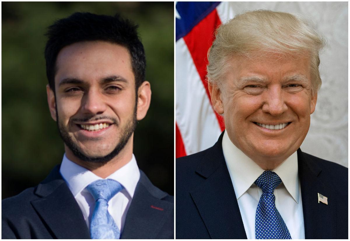 Ibraheem Samirah and Donald Trump