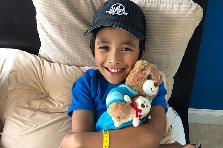 Community rallies to support Ashburn boy with cancer