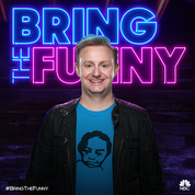 "Local comedian on NBC's new series ""Bring the Funny"""