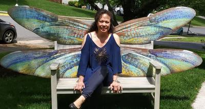 Online auction for Purcellville's Painted Benches kicks off Sept. 14