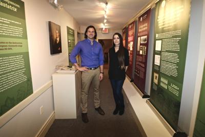 Loudoun Museum wine exhibit