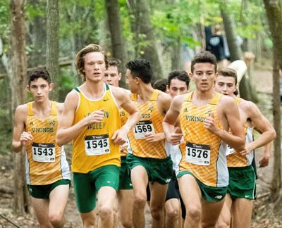 Valley XC boys pack