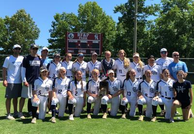 SBHS state softball champs