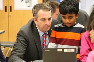 Gov. Northam celebrates Computer Science Education Week at Ashburn school
