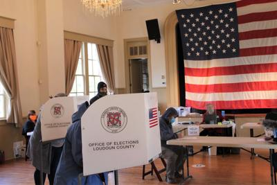 Morning voter turnout strong in Loudoun County