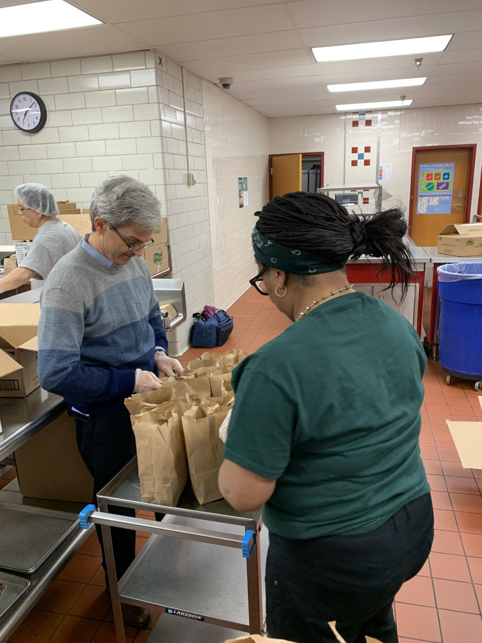 Williams packing lunches - 3-16-20
