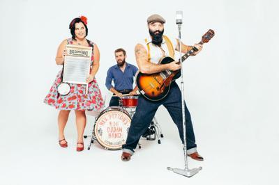 The Big Damn Band promo photo
