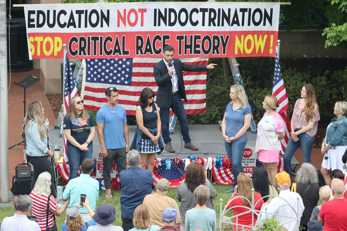 Critical Race Theory Rally in Leesburg | Prior, Group