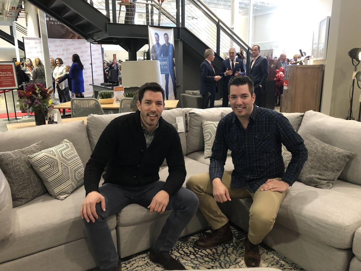 Belfort Furniture Celebrates Grand Opening With Property Brothers