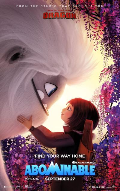 'Abominable' poster
