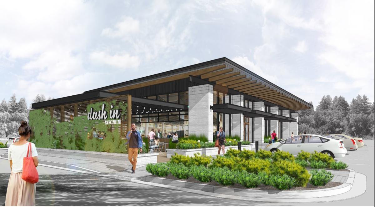 Dash In Kitchen Gateway Village Proposal | Restaurant Concept Art