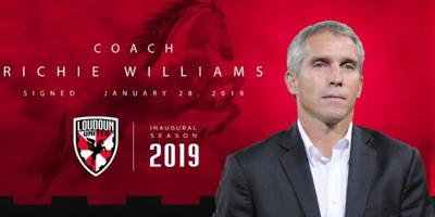 Richie Williams Loudoun United FC Head Coach
