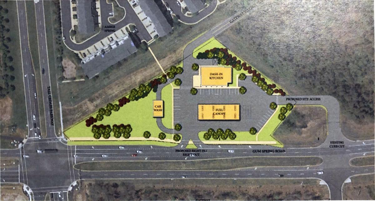 Dash In Kitchen Gateway Village Proposal | Site Concept