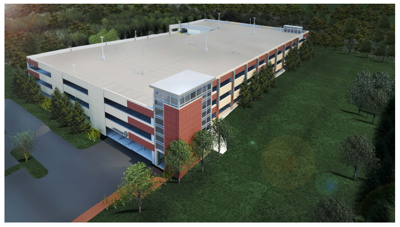 Loudoun County | Pennington Parking Garage Rendering