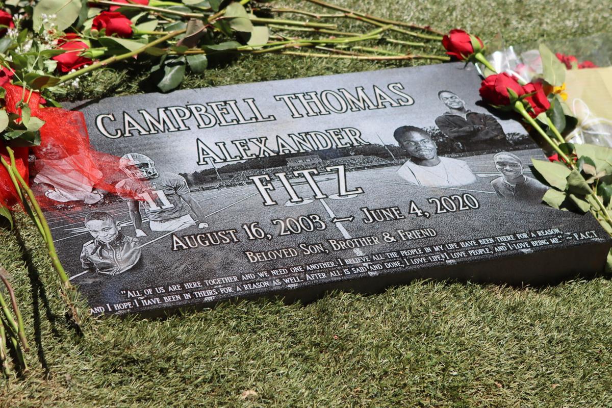 Fitz Campbell-Thomas Anniversary   Michelle Thomas — Gravestone