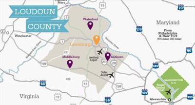 Visit Loudoun Map