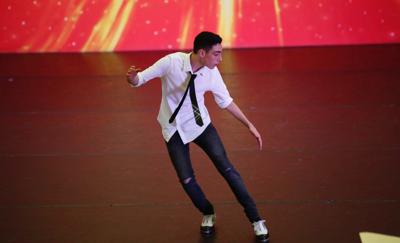 Lucas Marinetto dancing
